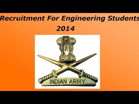 Indian Army - Technical graduate Course
