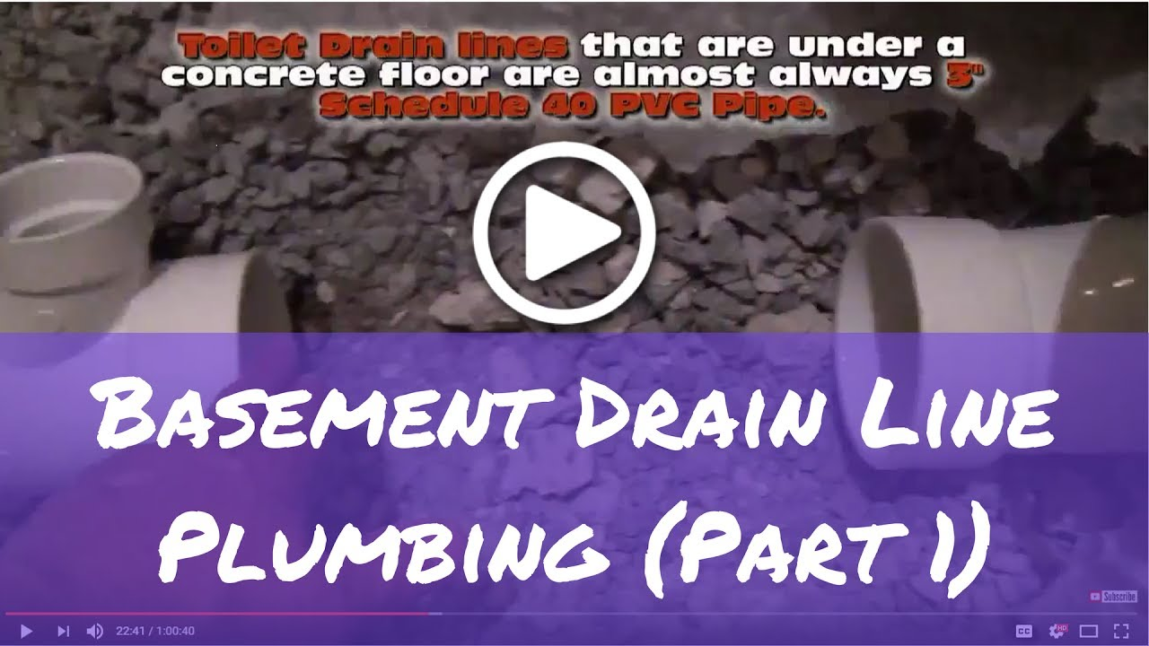 How to install Basement Bathroom Plumbing A to Z (Part 1)