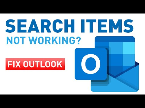 Outlook 2016 search items not working (Mac / Office 365)