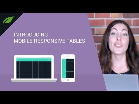 How Do You Make Tables Mobile Responsive?