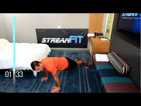 12-Minute Hotel Room Follow-Along Travel Workout (Great for Bedroom Too!)