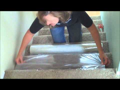How to Protect Carpeted Stairs