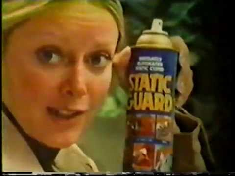 Static Guard ad, 1977