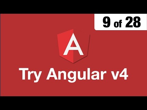 Try Angular v4 // 9 of 28 // Safely Embed a Video