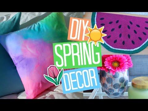Easy DIY Spring Room Decor Ideas 2017!
