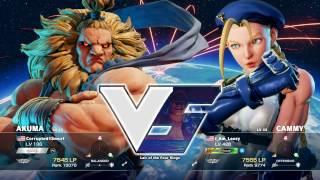 Download Street Fighter V I Am Leezy (Cammy) VS. Corrupted1Smurf (Akuma) Video