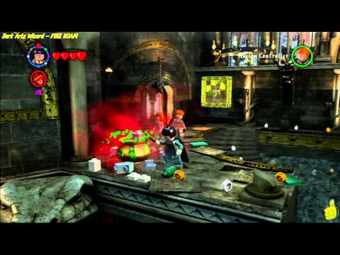 Lego Harry Potter Years 1-4: Obtain Dark Arts Wizard for Free Play - HTG