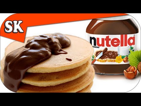 NUTELLA POURING SAUCE - For Ice Cream, Waffles, Pancakes and More