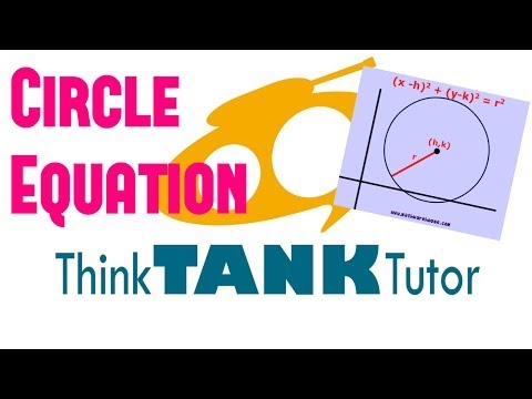 Equations Of Circles: Finding the Equation of Circle from the Diameter