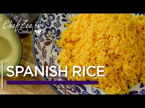 Yellow Spanish Rice Recipe | Arroz Amarillo | Made To Order | Chef Zee Cooks
