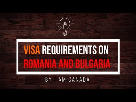 Visa Free entry to Canada for Romania and Bulgaria citizens
