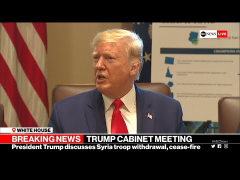 Xxx Mp4 Trump US Never Agreed To Protect Kurds In Syria L ABC News 3gp Sex