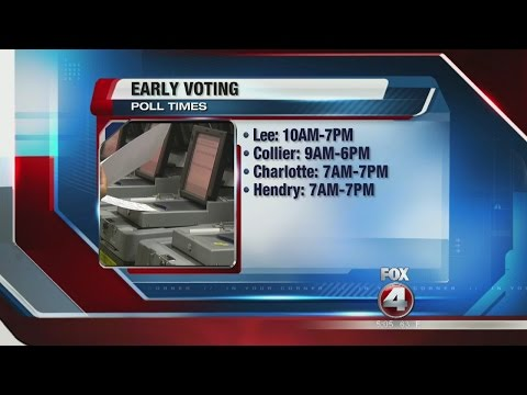 Early Voting Across Florida