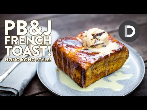 Hong Kong Style PB&J French Toast!