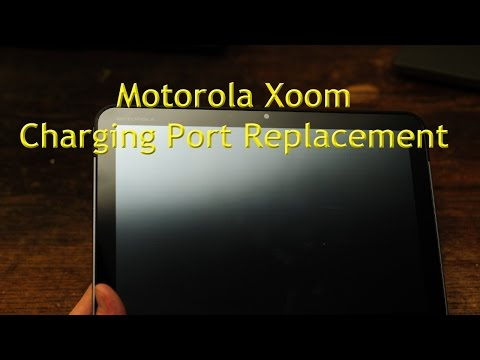 How To: Motorola Xoom Charging Port Replacement