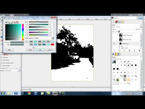 How to Make Stencil Art Using the Threshold Method
