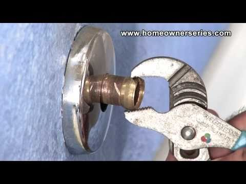 How to Fix a Toilet - Compression Ring Removal