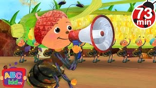 Ants Go Marching (2D) | +More Nursery Rhymes & Kids Songs - CoCoMelon