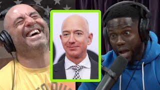 What Kevin Hart Said When He Met Jeff Bezos