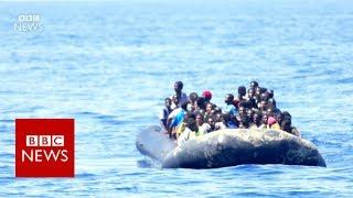 BBC is on board a rescue Ship in the Mediterranean Sea - BBC News