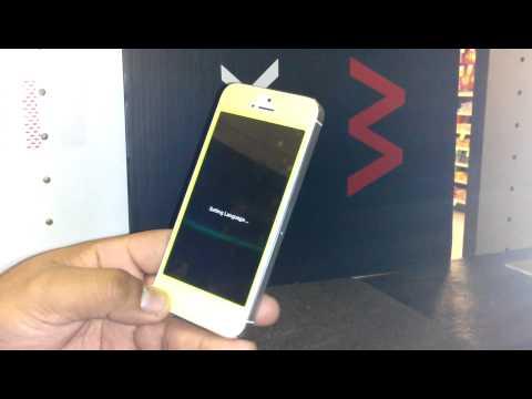 How to Change / Set Any language on iphone 5 iphone 4 & ipod
