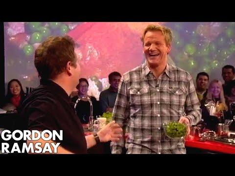 Trying to Make Pea Soup with Jonny Vegas - Gordon Ramsay