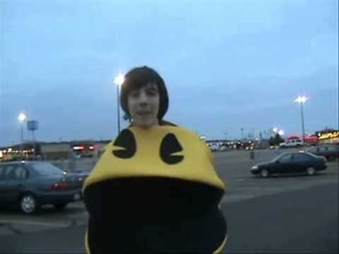 Walmart Pacman (Never Too Old to Put on a Costume)