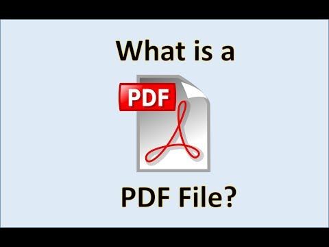 What is a PDF? Computer Fundamentals - The Portable Document Format - Basic File Extensions for PC