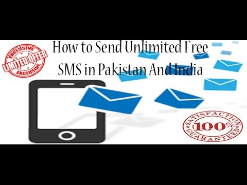 How to send Unlimited free SMS in Pakistan And India Tutorial In [Urdu/ Hindi]