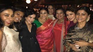 Shabana Azmi Diwali Bash 2017 | Vidya Balan, Sridevi, Hrithik Roshan & MORE
