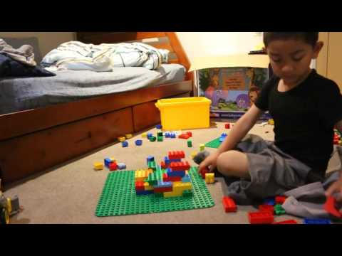 Lego - Making a castle with your lego