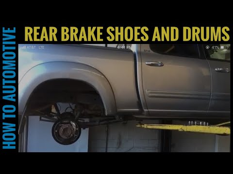 How to Replace the Rear Brake Shoes and Drums on a 2000-2006 Toyota Tundra