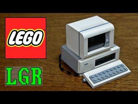 LGR - Building a LEGO IBM PC!