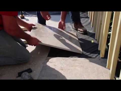 Porcelain Pavers Installation Video Series - Deck