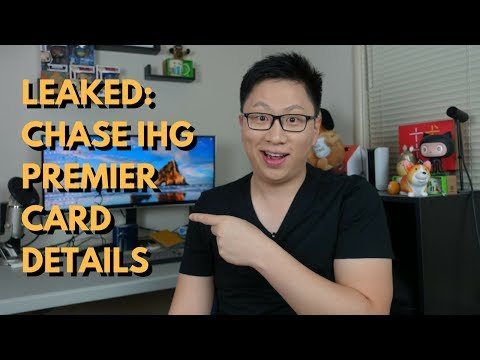Leaked: New Chase IHG Premier Card Details