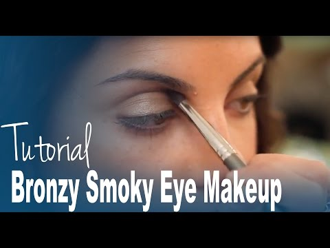 Bronzy Smoky Eye Makeup Tutorial From Metro Beauty Academy