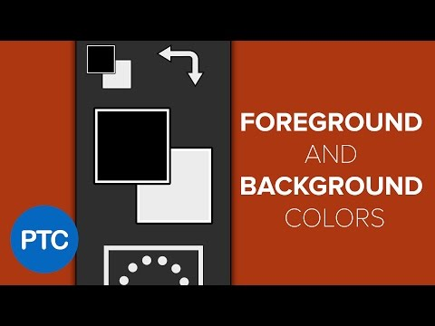 How To Quickly Access The Foreground And Background Color Pickers In Photoshop