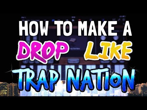 How to make a Drop like Trap Nation in Garageband (iPad & iPhone)