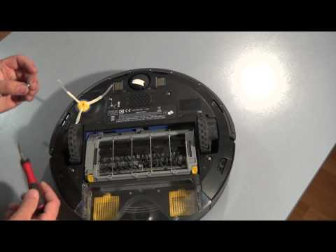 How to Replace Side Brush on the iRobot Roomba 700 800 Series