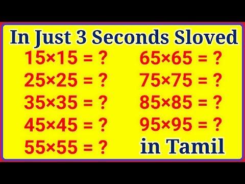 Mathematics simple Tricks