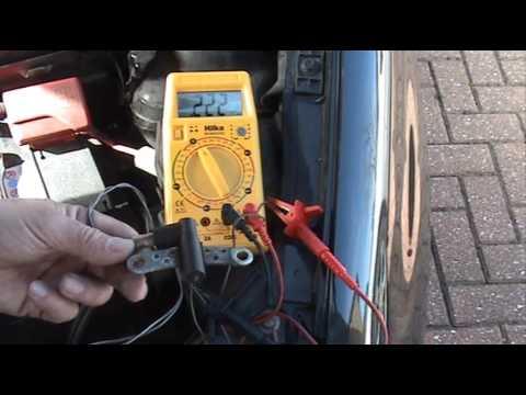 Testing Crankshaft Position Sensor CPS Inductive