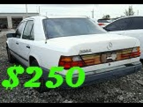I Won A Grey Market Mercedes W124 At Copart For $250