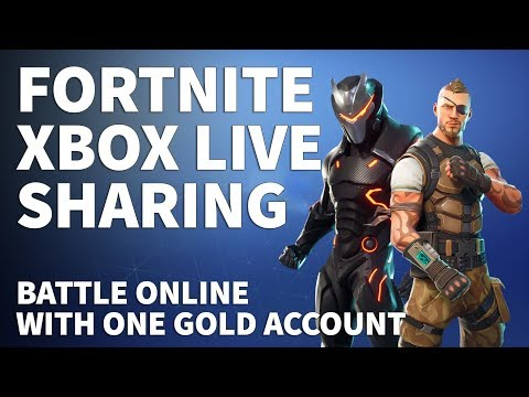 Xbox Live Gold Sharing for Fortnite – How to Play Fortnite Without Xbox Live Gold