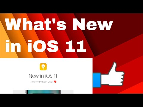 iOS 11: All New Features | What's New in iOS 11 New Feature