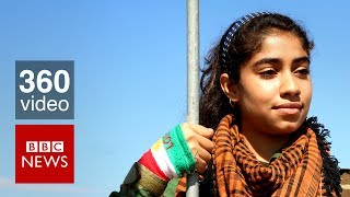 The teenage girl fighting Islamic State - BBC News