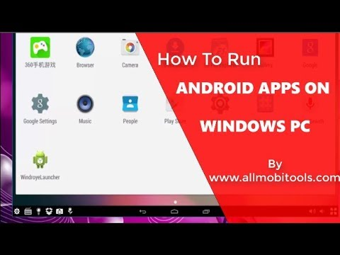 How To Run Android APPS and Games on Windows PC &  Laptop