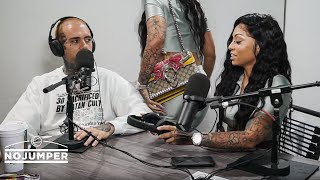 Cuban Doll walks out on her No Jumper interview