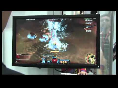 Guild Wars 2 - SDCC Comic-Con 2011 Live Floor - Interview And Gameplay (Elementalist)