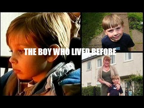 The boy live in Glasgow and remember his past life on the remote Scottish island of