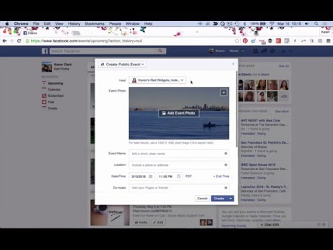 New on Facebook - Create a Public Event from Your Biz Page Easily